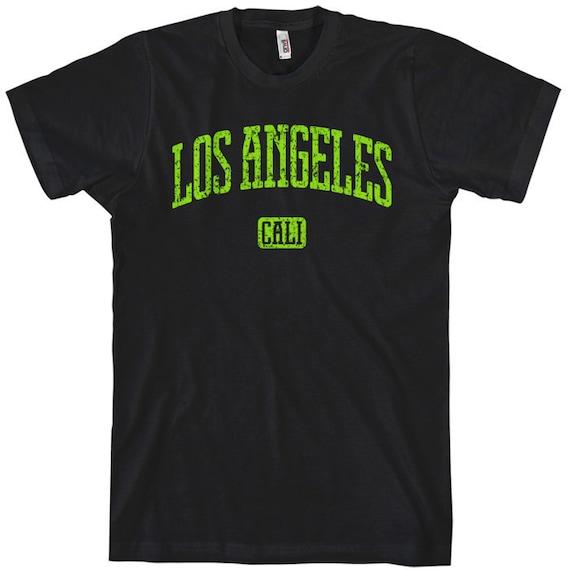 Los Angeles Cali T-shirt - Men and Unisex - XS S M L XL 2x 3x 4x - 4 Colors