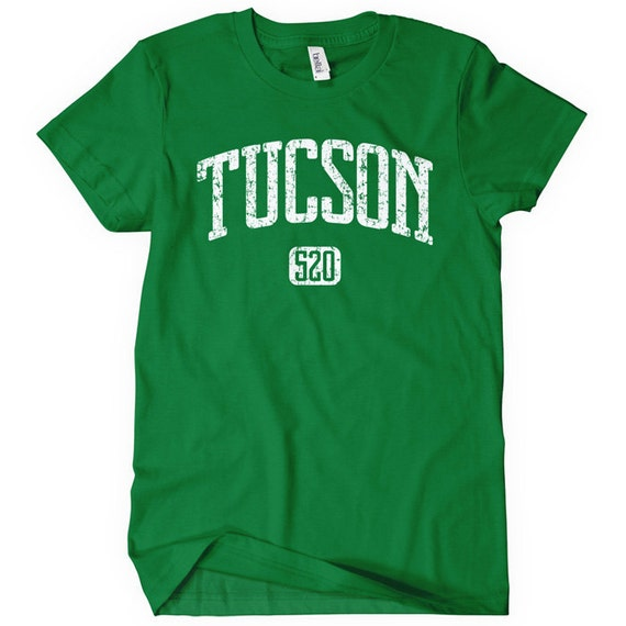 Women's Tucson 520 T-shirt - S M L XL 2x - Ladies Tucson Tee - Arizona - 4 Colors