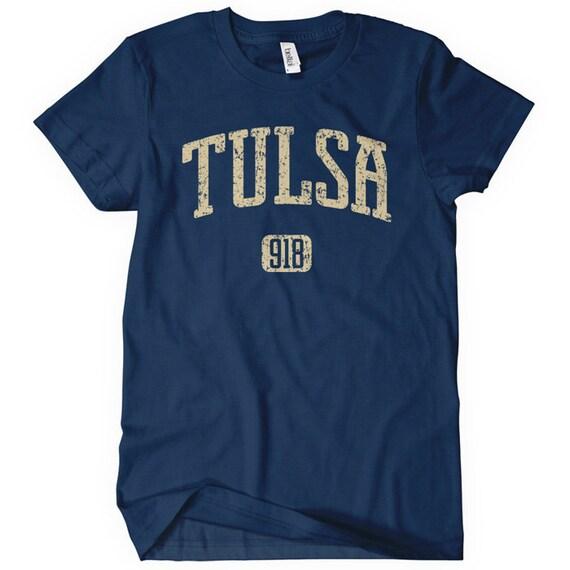 Women's Tulsa 918 Tee - S M L XL 2x - Ladies Tulsa Oklahoma T-shirt - 4 Colors