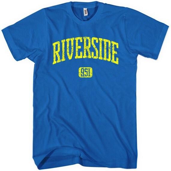 Riverside 951 T-shirt - Men and Unisex - XS S M L XL 2x 3x 4x - Cali Tee - 4 Colors