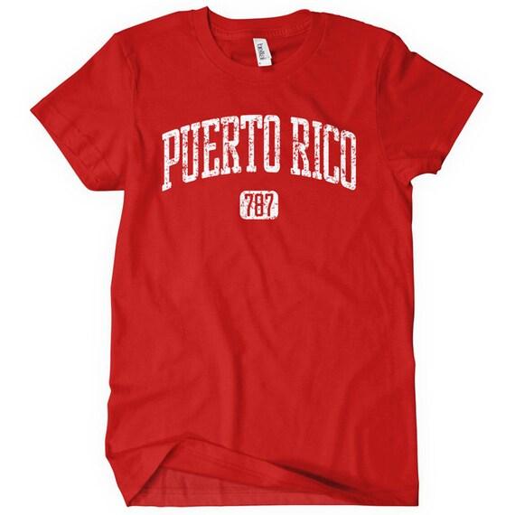 Puerto Rico 787 Women's T-shirt - S M L XL 2x - Ladies Puerto Rico Tee - 4 Colors