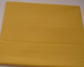 Solid Color Sunflower Baby Toddler Bed Fitted Sheet Yellow
