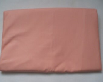 Solid Color Peach  Baby Toddler Bed Fitted Sheet