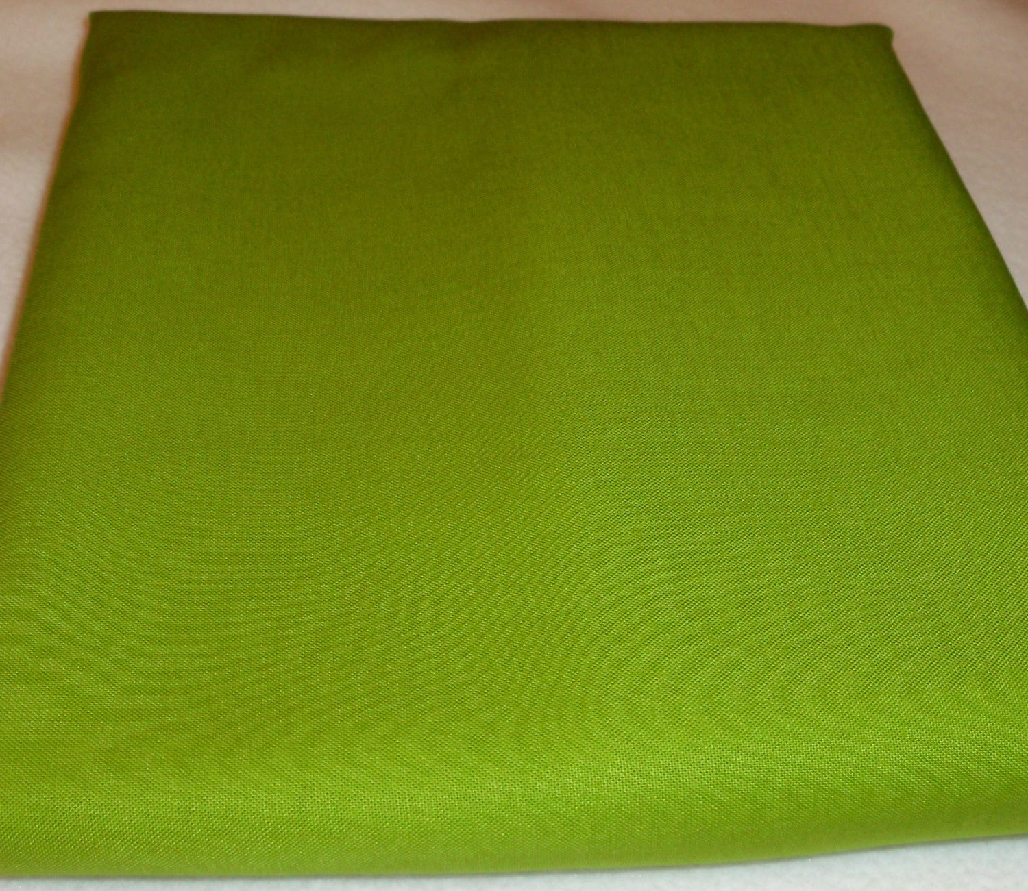 Solid Color Lime Green Baby Toddler Bed Fitted Sheet - photo#33