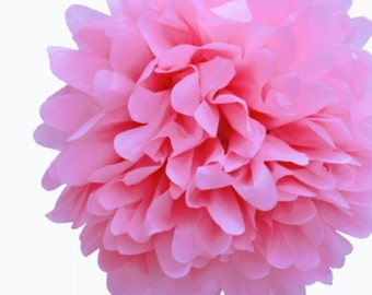 BUY ONE Get One FREE Tissue Paper Pom Pom Pink or color of your choice