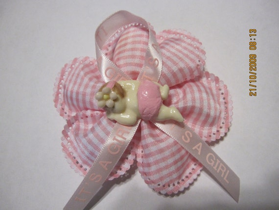 Baby Shower Capiarosettepin Onmom To Be Corsagenana To Be