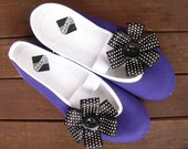 sweet black dot /ballet flats shoes jarmilki wedding woman poletsy fashion gift romantic elegant spring summer girl vegan comfortable polka