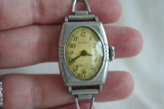 Antique New Haven Wrist  Watch