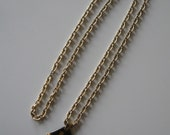 Kenneth J Lane KJL Early 1970s Maya Pendant Necklace with 52 inch chain