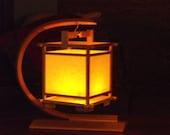 Shoji style lantern made in Oregon