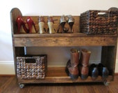 Shoe Bench Cart