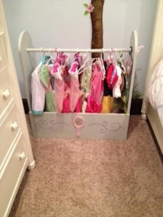 Child's Clothes Dress-up Storage Closet