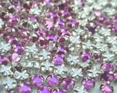 Last Set: Swarovski Crystal Rose Montees 10ss Light Rose Pink Glass Jewerly Design By Pink Sugar Supplies