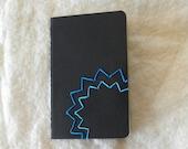Moleskin Notebook (Blue Starburst)