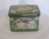 Vintage four seasons tin box