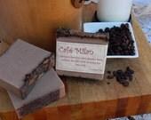 Cafe Milan Handmade Goats Milk and Olive Oil Soap Bars. Set of 3.