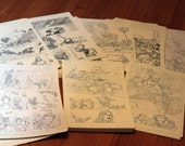Original comic art grab bag.  Two random pages from SWORD, Five Fists of Science, Generation Hope, X-Men The Heroic Age