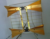 Atomic Eames TV Antenna - Vintage Space Age Television Aerial