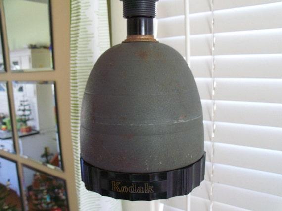 Industrial Lighting - Kodak Darkroom Lamp with Safelights