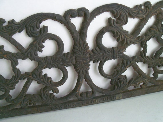 Cast Aluminum Edging : Reserved for jon cast iron metal trim edge industrial