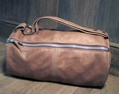 Handmade Leather Duffel Bag