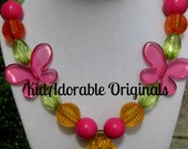 Citrus Sweetie Chunky Necklace