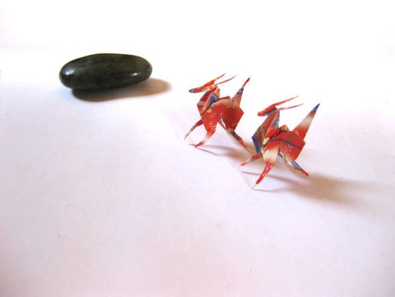Deer origami, miniature deer, miniature antelopes