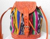 1960s Southwest Hippie Bucket Bag Nicaragua