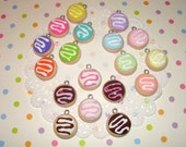 Mini Sugar Cookie Charms - Choose from 18 Colors