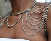Two Faced Shoulder Chain Chain