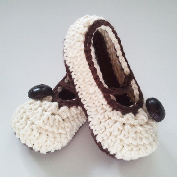 Sassy Straps Baby Shoes CROCHET PATTERN instant download - slippers mary janes booties