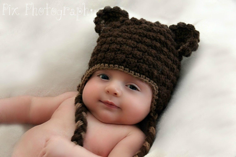 Beary warm beanie crochet pattern instant download bear zoom bankloansurffo Images