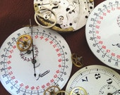 Great Vintage Stopwatch Parts for Jewelry, Supplies and Crafting, lot 2
