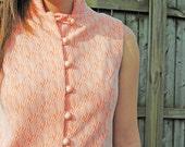60's Orange Creamsicle Shift Dress