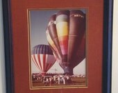 Art / Vintage Hot Air Balloon
