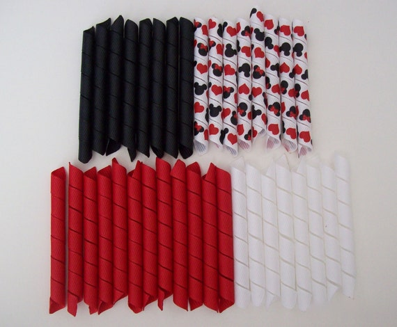 korker pieces for korker bows 36 piece 3 inch each mickey love