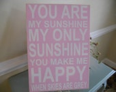 pink Nursery Sign nursery signs