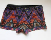 TRIBAL Arcade Printed Silk Shorts
