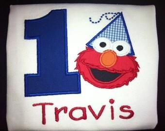 Elmo Birthday Shirt for Kids (1st Birthday)