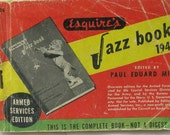 VINTAGE BOOK of JAZZ1944 Armed Forces Edition