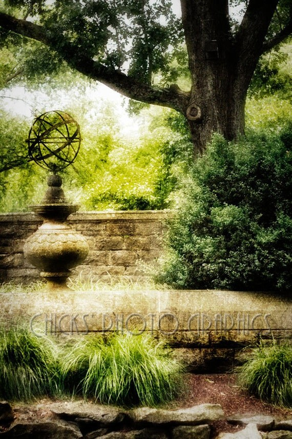 Items Similar To Garden Sphere Photography Print Cheekwood Botanical Gardens Nashville Tn