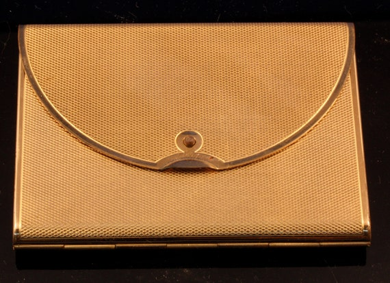 Vintage Clutch Purse Style Compact