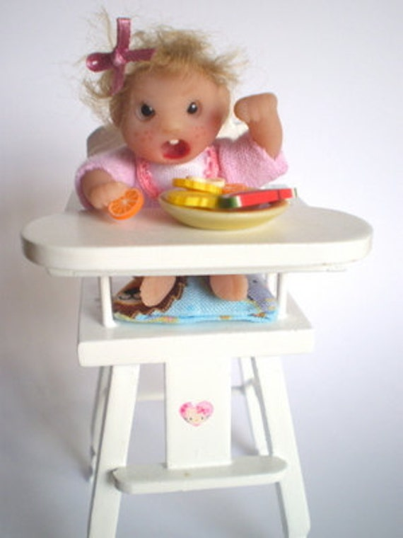Ooak miniature doll for Dollhouses 1:12 scale