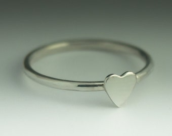 Heart Ring  - Sterling Silver Heart ring