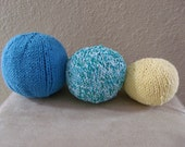Squishy Balls, Set of 3, Multi Color Toys