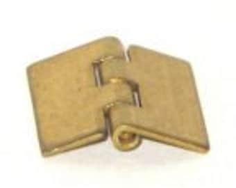 "S00150 - 1/2"" x 1/2"" solid brass hinge - mini hinge"