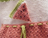 Watermelon Dress, Hat, and Purse - Made to Order