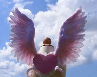Costume Wings - Light Pink - Child 1yr