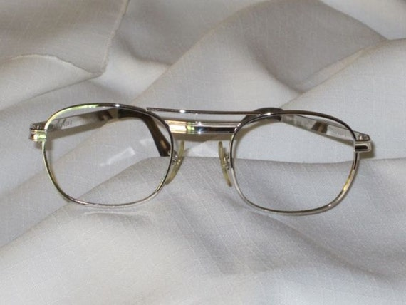 Eyeglass Frame Usa : Eyeglass Frames Silver Titmus USA 6 Safety by ...