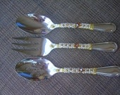 Hostess, serving set in Topaz, all colors available, for weddings, gifts, holiday, birthday